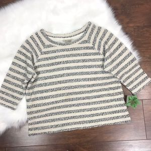 Lucky Brand Knitted Pullover Scoop Neck Sweater